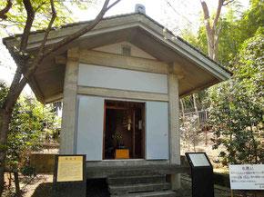 真福寺収蔵庫