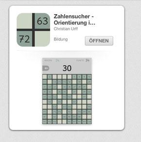 Lernspiel Hunderterfeld lernen Zahlen lernreich