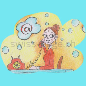 Beispiel kreative Webseite Office