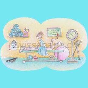 Beispiel kreative Webseite Massage