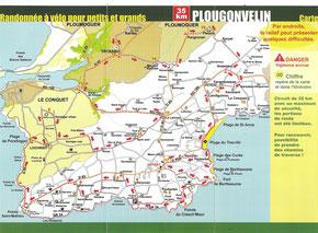 Plougonvelin - Le Conquet -Ploumoguer 35km