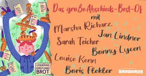 Die Lesebühne Kunstloses Brot liest auch in diesem Jahr wieder zur Leipziger Buchmesse 2020 (Foto: Jens Burkard, Texterkolonie 2019)