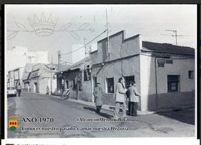 Calle Mayor año 1970