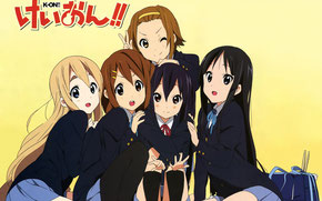 """K-ON!!"" © Kakifly / Kyoto Animation"