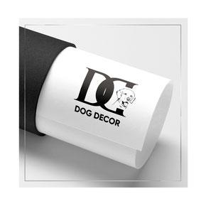 logotype logos design Dog decor store pets dogs ideas one colour luxury