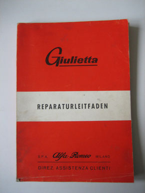 Alfa Romeo Giulietta Reparaturleitfaden Foto 123