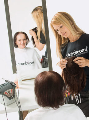 Haarverdichtung mit Hairdreams MicroLines