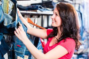 Einkauf nach Maß und Farbtyp