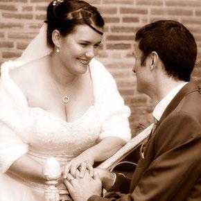 photographie du mariage de Désiré et Pierre