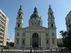 ハンガリ―ブダペストの聖イシュトヴァーン大聖堂