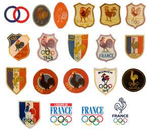 Historique des logos du Comité olympique français