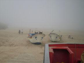 Boote im Frühnebel