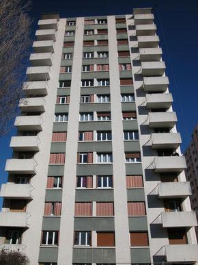 Isolation extérieure d'immeuble à Grenoble