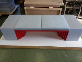 室内用ベンチ