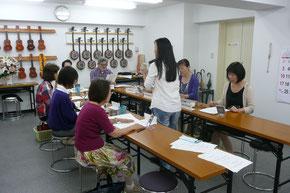 旅行英会話教室のレッスン風景