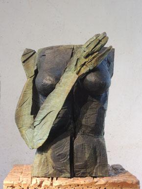tomoé, Bronze, 2018, Höhe 59cm, 6 Exemplare