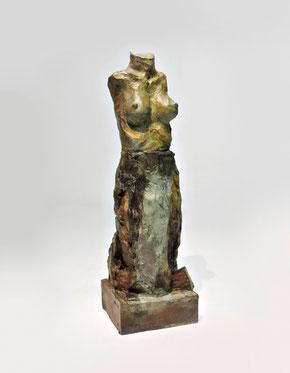 Figur 281, Bronze, 2015, 27,5x9,5x8,5cm