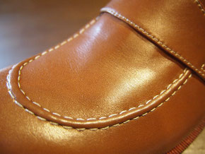 オーダーメイド靴 モカ