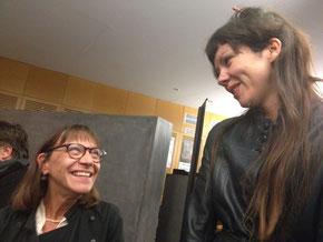 Annick et Delphine Fedoroff