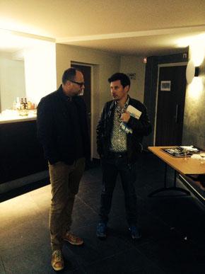 Paul Rognoni, producteur, Yves Jeuland, cinéaste