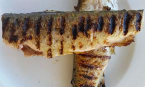 Fisch: Kärntner Laxn vom Grill