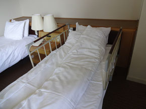 ベッドさくあり