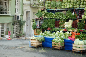 Local Green-grocery Istanbul