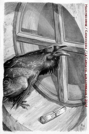 05-Un Nachtrabe, messager des noires nouvelles