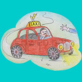 "Beispiel-Homepage ""Taxi"""