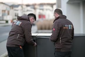 Service Team Nicewaste - Mülltonnenboxen