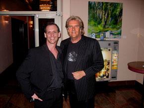 mit Howard Carpendale im Maritim Hotel Hannover 2006