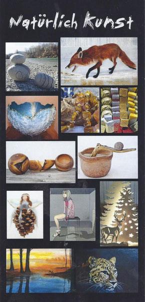 Natürlich Kunst - Kunstausstellung im Atelier Stephie Bieda