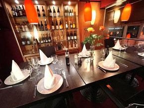 Der Clubraum im Ristorante Porticello