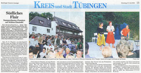Reutlinger Generalanzeiger 23.07.2002
