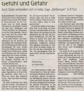 Schwäbisches Tagblatt 19.07.2010