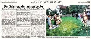 Schwäbisches Tagblatt 16.10.2006