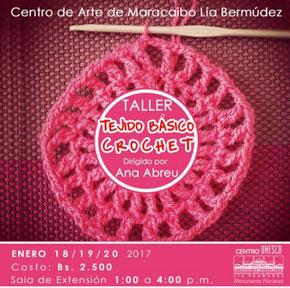 Taller Tejido Básico Crochet - CAMLB