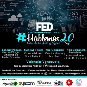 Hablemos 2.0, Taller de Marketing - FED