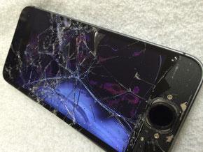 iPhoneガラス割れ大和高田市K様