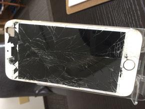 iPhone6ガラス割れ修理奈良県新大宮N様