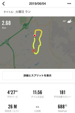 しあわせの村ジョギング2周目
