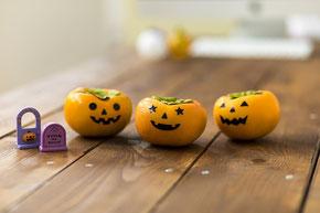 子供たちに人気のハロウィン柿