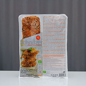 Schnitzer Glutenfree - Bio Baguette grainy