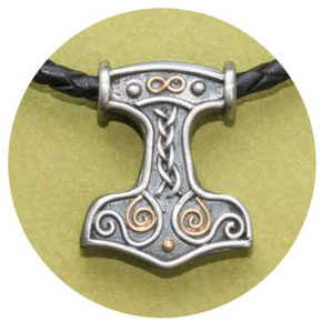 Handgefertigte Thors Hammer bei Schmuckbrise.de