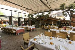 Salón restaurante exterior