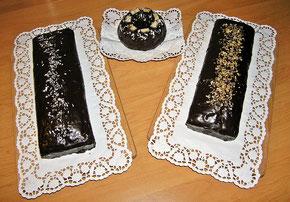 Rührkuchen lange Form und ein kleiner runder ...