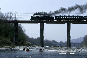 汽車の橋 (半切)