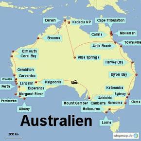 Bild: Australien Rundreise