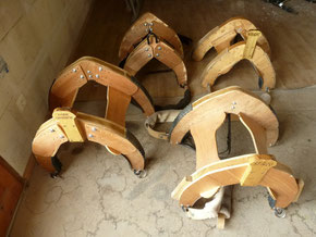Ribambelle de bâts pour Marie-Charlotte, Mattin, Spirou et Nougat