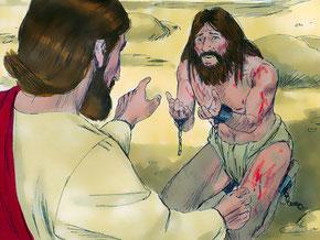Les mauvais esprits eux-mêmes ont eu peur d'être tourmentés par Jésus. Et voilà qu'ils se mirent à crier: «Que nous veux-tu, [Jésus,] Fils de Dieu? Es-tu venu ici pour nous tourmenter avant le moment fixé?